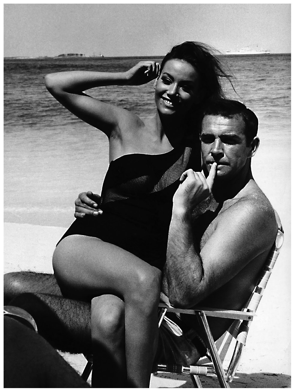 sean-connery-set-of-thunderball-with-claudine-auger